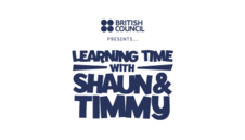 British Council Presents Learning Time with Sean and Timmy logo