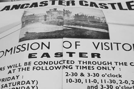 Entry ticket to the castle