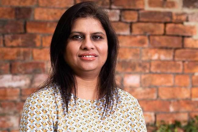 Course educator Parveen Ali