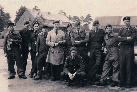 RAF squaddies in the era of National Service