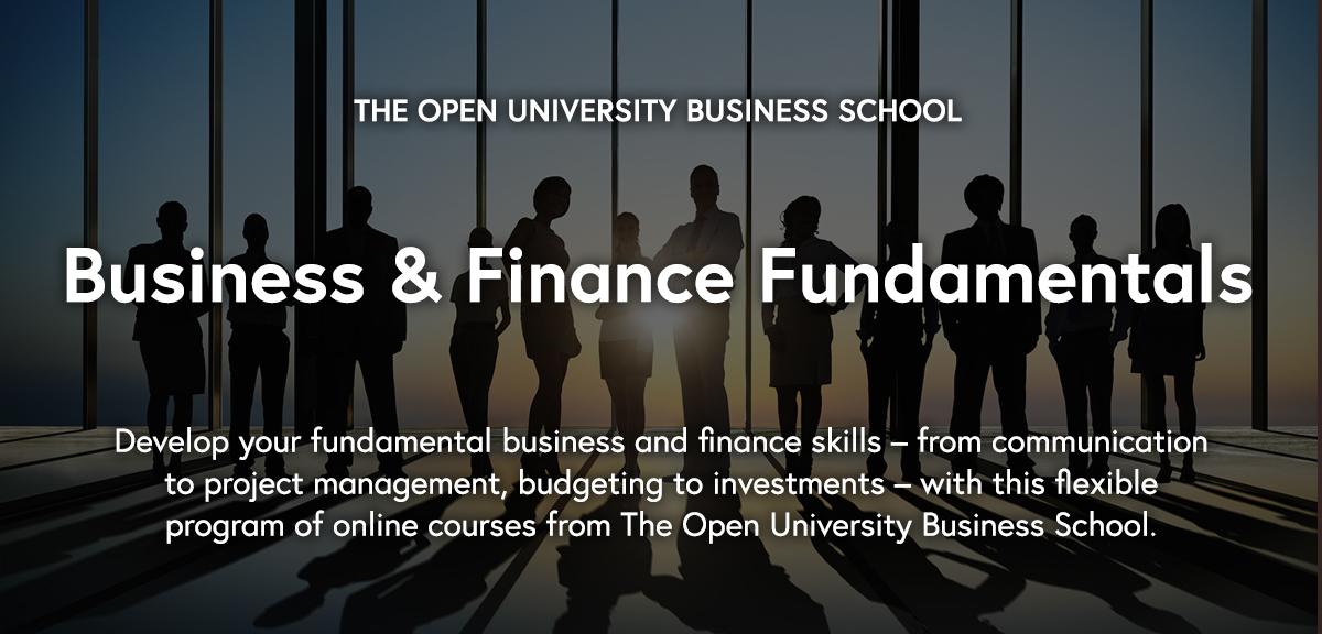 Business and Finance Fundamentals Program - FutureLearn