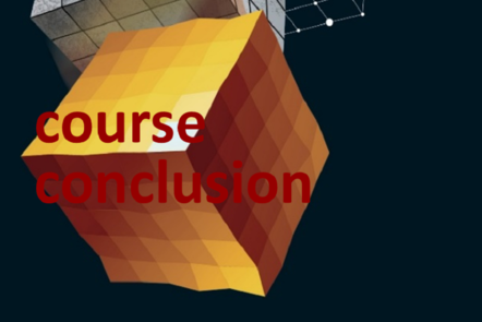 "Part of Scale-up Manual front cover image with the words ""course conclusion""."