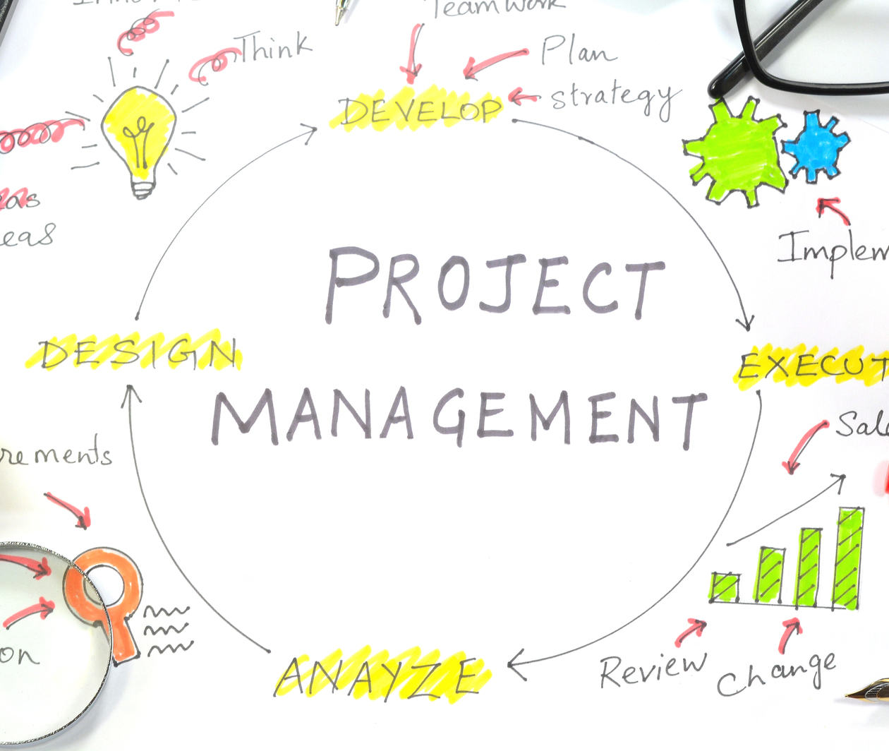Organisations and Projects
