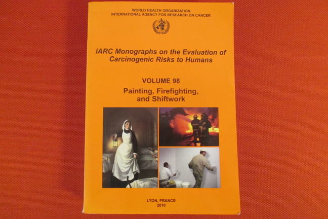 Frontpage of IARC Monographs Programme Volume 98