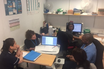 An example from Imperial College Healthcare NHS Trust weekly OPAT MDT
