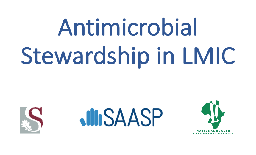 PPT slide screen shot of article title - Antimicrobial stewardship in LMIC