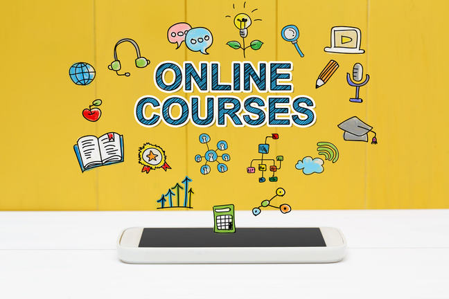 Online Course Concept
