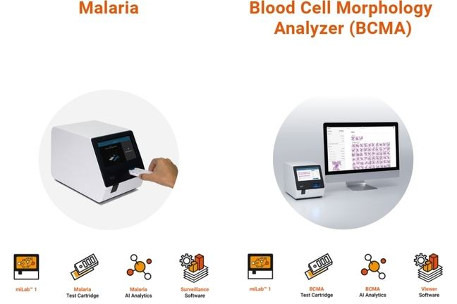The world's first gold standard point-of-care malaria diagnostics device