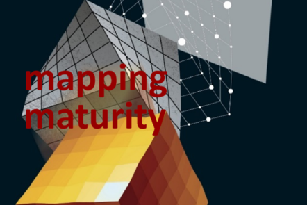 "Part of Scale-up Manual front cover image with the word ""mapping maturity""."