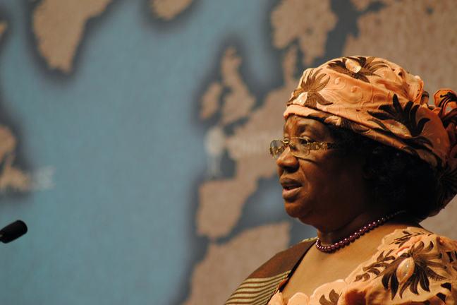 Malawi former President Joyce Banda