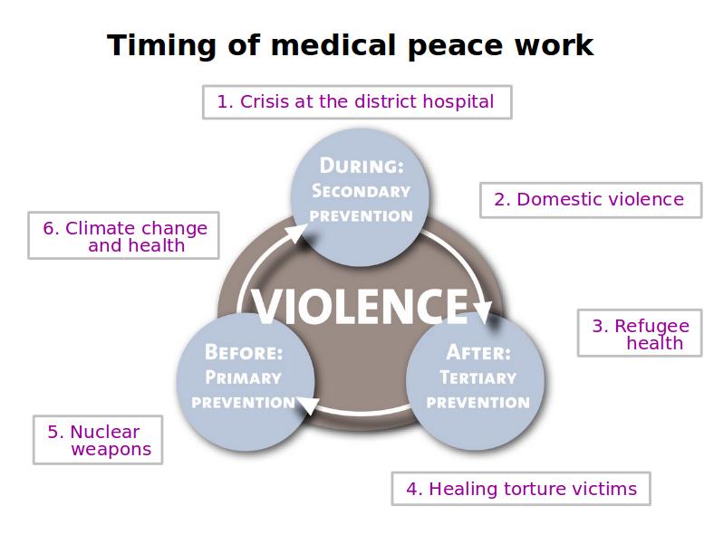 Model: Medical Peace Work