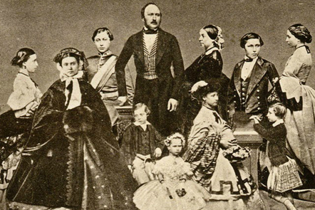 Queen Victoria and her family