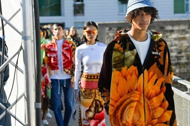 Fashion upcycling models