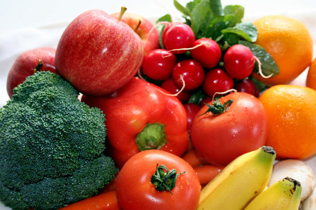 Examples of food that contains phytochemical and antioxidants.