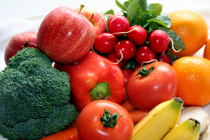 incorporating more fruits and vegetables