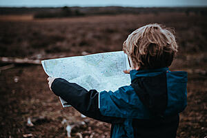 Child holding map — PSHE Education helping children navigate a complex world