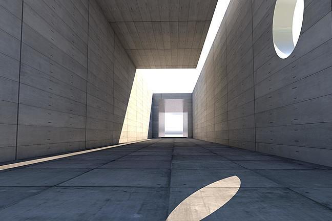 Concrete architectural block