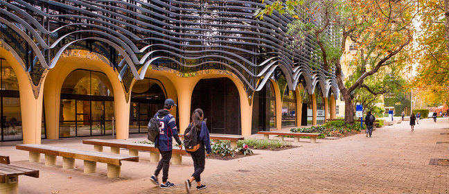 University of Melbourne campus