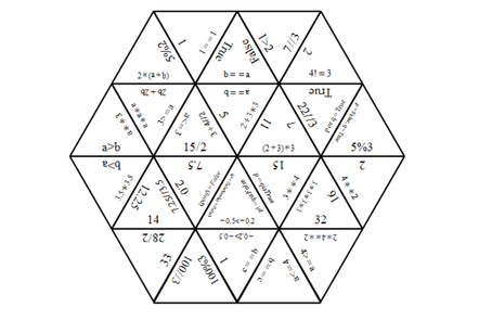 An image of the triominoes activity