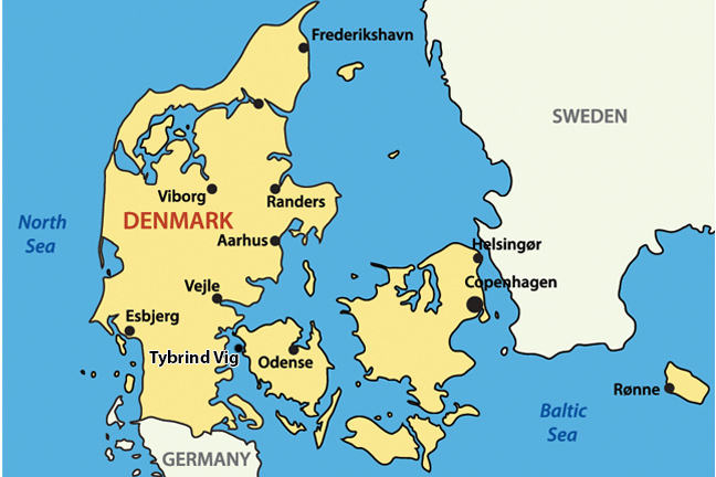 Tybrind Vig Denmark 54004000 cal BC Shipwrecks and Submerged