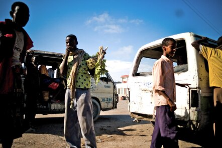 Hamrawaineh market in Mogadishu.