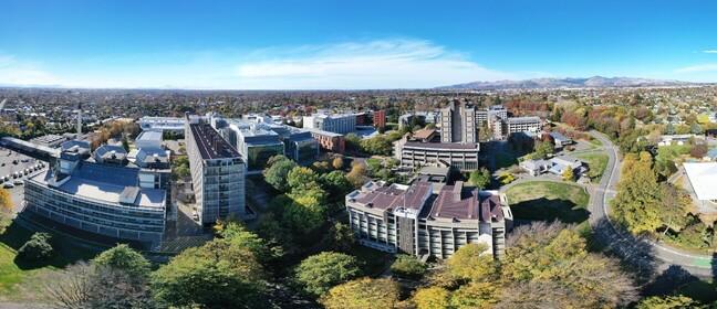 University of Canterbury campus