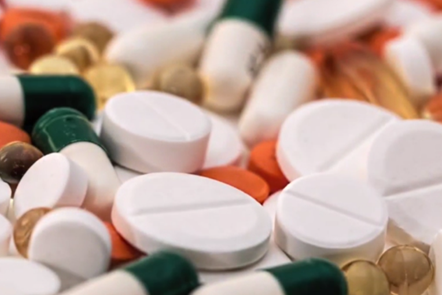 Close up of pills and tablets