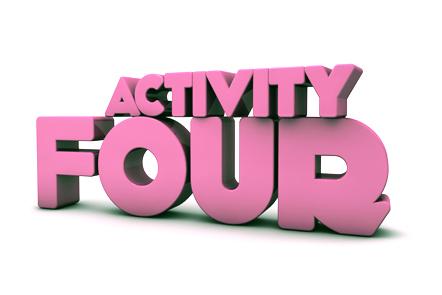 Activity 4 heading