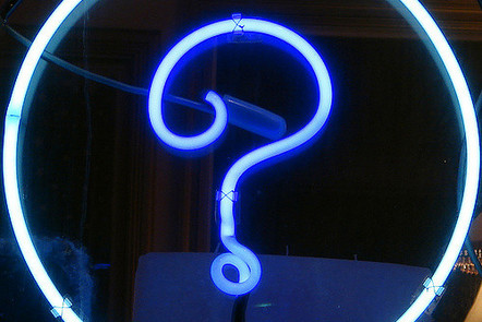 """""""Question Mark Squircle"""" flickr photo by Xurble https://flickr.com/photos/xurble/376588066 shared under a Creative Commons (BY) license"""
