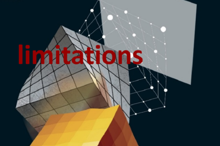 "Part of Scale-up Manual front cover image with the word ""limitations""."