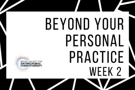 Beyond your personal practice - week 2