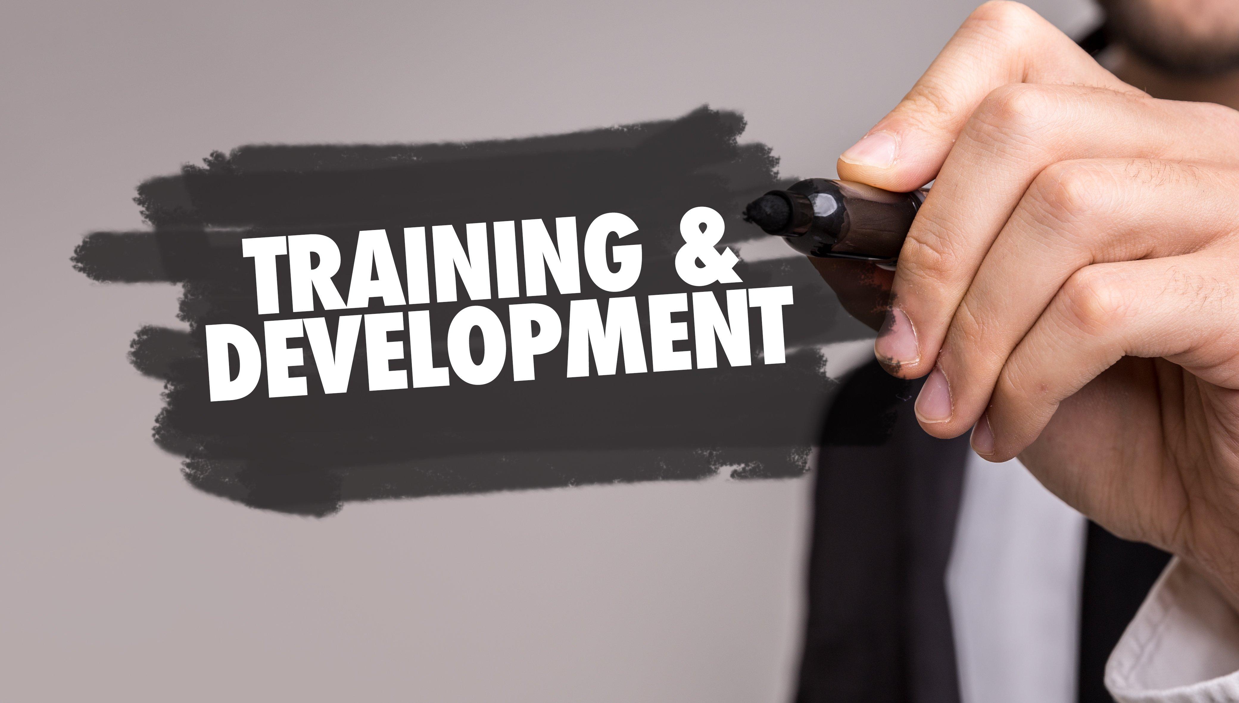 Training & Development sign
