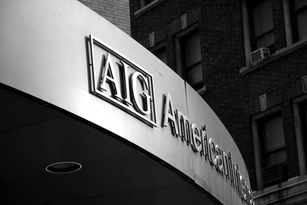 Sign for AIG Bank