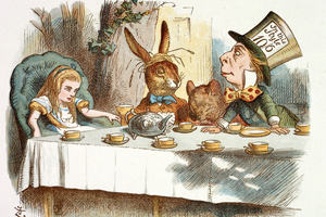 Mad Hatter's teaparty