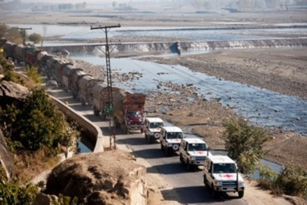 ICRC convoy , Pakistan (ICRC photo)