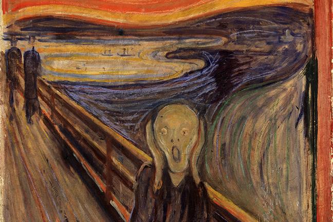 The Scream by Edvard Munch 1893