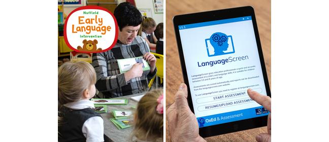 Early language intervention image
