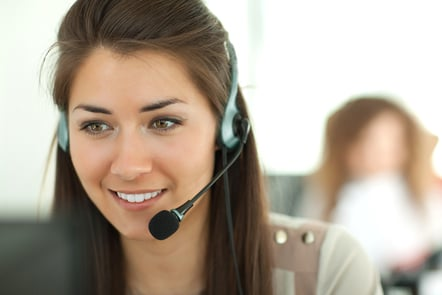 Female call handler
