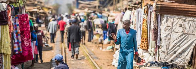 Nairobi market place