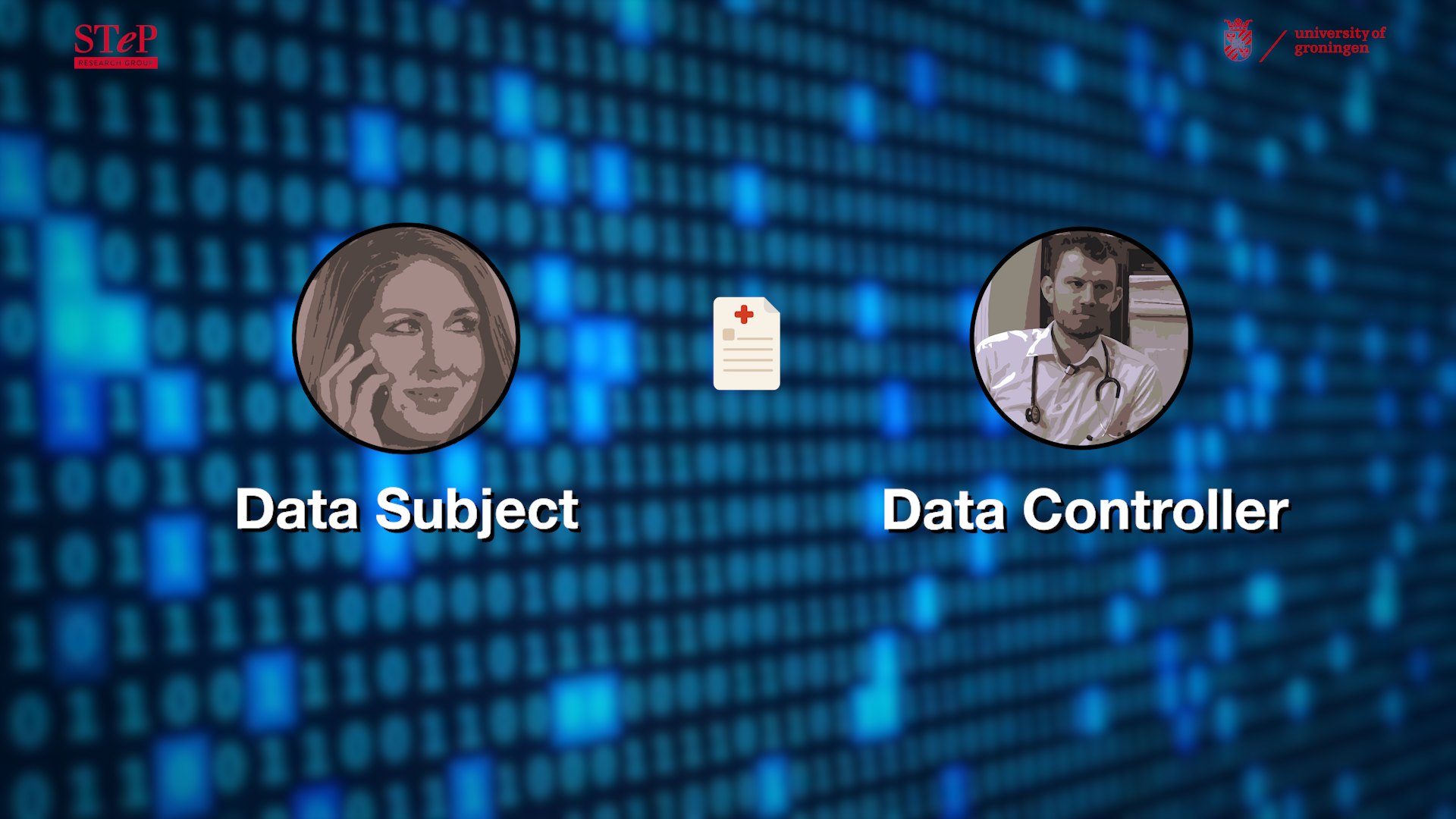 Data subject and data controller