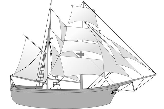 An image of a tall ship