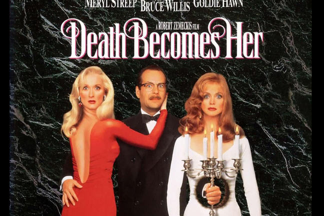 1992's Death Becomes Her starring Meryl Streep and Goldie Hawn