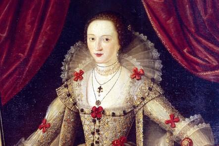 portrait of Lady Mary Sidney Wroth