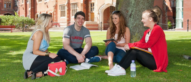 Queen's University Belfast students