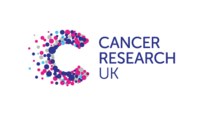 A capital C written on the left and Cancer Research UK written on the right