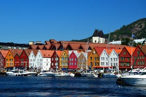 Bergen: The old wharf