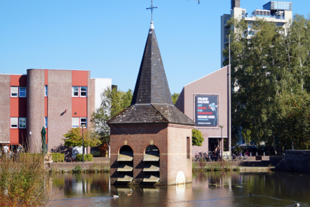 """Campus artwork """"Bell Tower of Drienerlo"""" by Wim T. Schippers"""