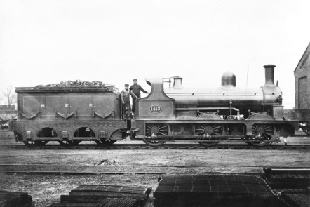 North Eastern Railway Locomotive c1890