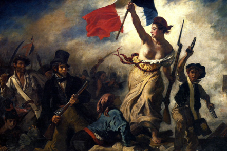 French Revolution: Liberty leading the people