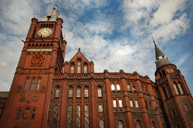 Image of the University of Liverpool campus